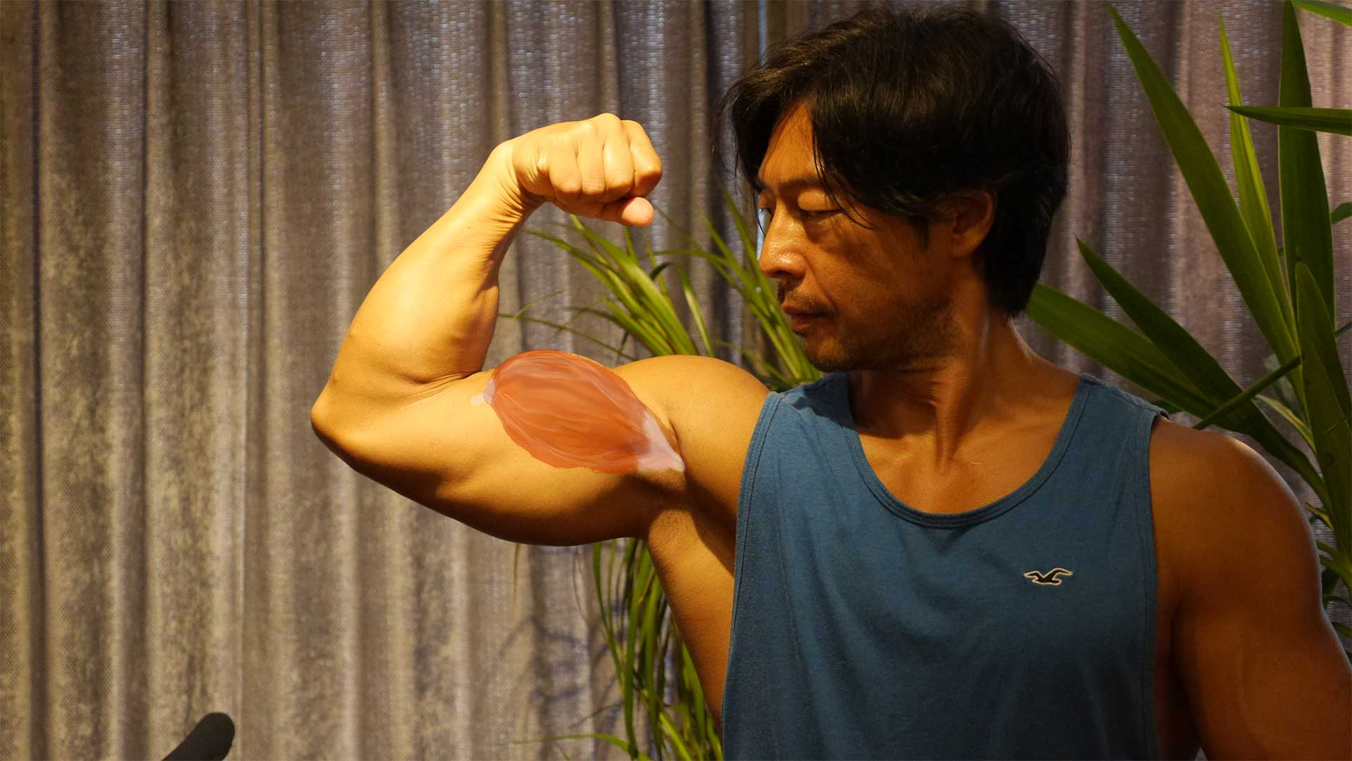 【目指せ上腕40cm超え!Part2】ダンベルで太い腕を作る!二頭筋。力こぶ。インクライン・カール。